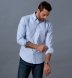Light Blue Heavy Oxford Soft Ivy Button Down Shirt Thumbnail 4
