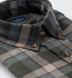 Canclini Pine Grey and Camel Shadow Plaid Beacon Flannel Shirt Thumbnail 2