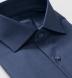 Reda Slate Blue Merino Wool Shirt Thumbnail 2