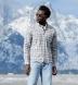 Teton Grey Tonal Plaid Flannel Shirt Thumbnail 2