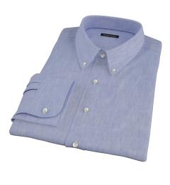 Light blue linen effect shirts by proper cloth light blue linen effect dress shirt junglespirit Images
