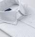 American Pima Grey Melange Stripe Heavy Oxford Shirt Thumbnail 2