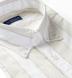 Albini Beige Printed Stripe Chambray Shirt Thumbnail 2