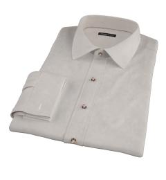 Khaki Chino Men's Dress Shirt