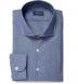 Walker Blue Chambray Shirt Thumbnail 1