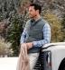 Teton Glacier Blue Gingham Flannel Shirt Thumbnail 3