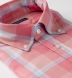 Portuguese Faded Rose and Light Blue Shadow Plaid Shirt Thumbnail 2