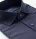 Reda Navy Melange Merino Wool Shirt Thumbnail 2