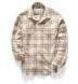 Japanese Washed Beige Country Plaid Shirt Thumbnail 4
