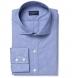 Canclini Dark Blue End on End Shirt Thumbnail 1