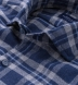 Whistler Blue and Grey Large Plaid Flannel Shirt Thumbnail 2