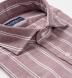 Albini Washed Red Stripe Slub Twill Shirt Thumbnail 2