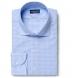 Chambers Blue Check Shirt Thumbnail 1