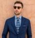Blue Indigo Chambray Soft Roma Spread Shirt Thumbnail 3