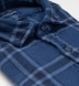Japanese Washed Faded Blue Country Plaid Shirt Thumbnail 2
