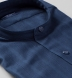 Navy Tonal Casual Stripe Herringbone Shirt Thumbnail 2