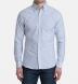 Blue University Stripe Heavy Oxford Soft Ivy Button Down Shirt Thumbnail 3