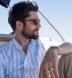 Portuguese Light Blue Wide Stripe Cotton Linen Blend Shirt Thumbnail 4