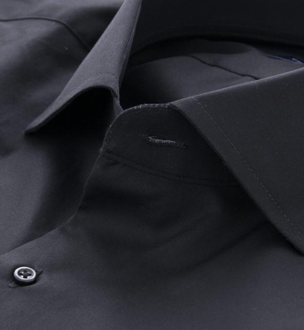 Mercer Black Broadcloth Tuxedo Front Plain