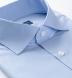 Thomas Mason Goldline WR Light Blue Check Shirt Thumbnail 2