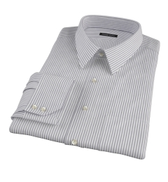 Canclini Black Stripe Custom Dress Shirt
