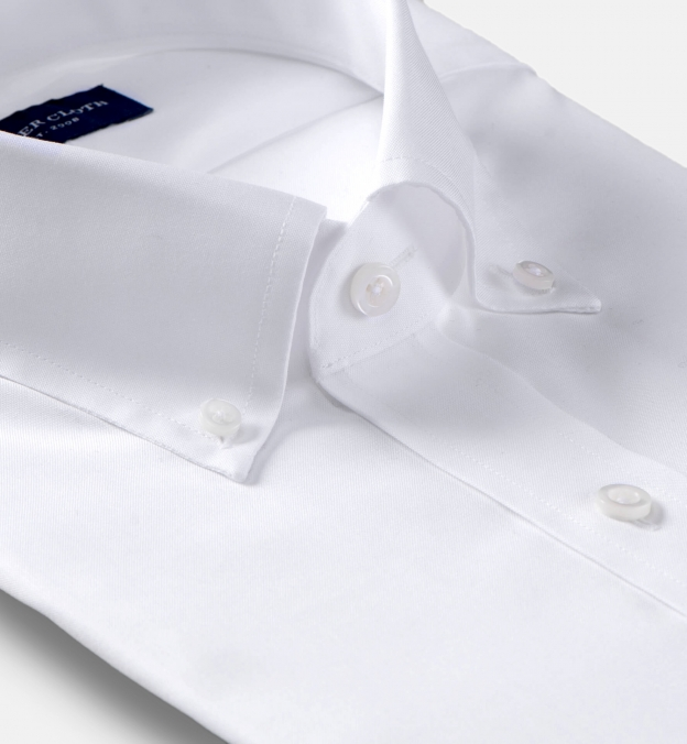 Mayfair Wrinkle-Resistant White Pinpoint