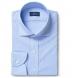 Performance Light Blue Houndstooth Shirt Thumbnail 1