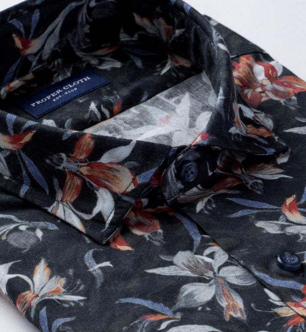 Albiate Multi Color Large Floral Print