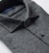 Canclini Grey Extra Large Herringbone Beacon Flannel Shirt Thumbnail 2