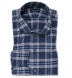 Whistler Blue and Grey Large Plaid Flannel Shirt Thumbnail 1