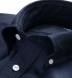 Navy and Black Check Heavy Oxford Shirt Thumbnail 2