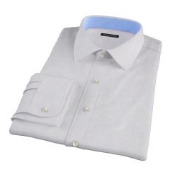 Lavender Micro Grid Custom Dress Shirt