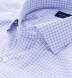 Trento Lavender and Blue Small Check Shirt Thumbnail 2