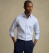 Portuguese Light Blue Cotton Linen Oxford Shirt Thumbnail 3