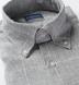 Tessuti di Sondrio Light Grey Prince of Wales Linen Shirt Thumbnail 2