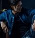 Washed Japanese Blue Slub Weave Shirt Thumbnail 3