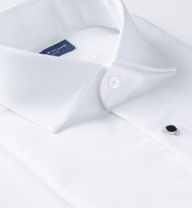 White Pique Tuxedo