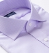 Mayfair Wrinkle-Resistant Lavender Houndstooth Shirt Thumbnail 2