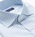 Adams Sage and Sky Blue Multi Check Shirt Thumbnail 2