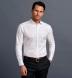 Lafayette 80s White Twill Shirt Thumbnail 3