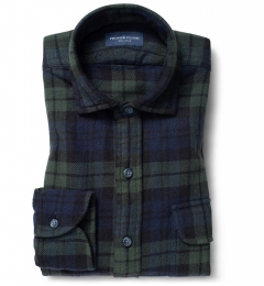 Japanese Washed Blackwatch Country Plaid