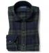 Japanese Washed Blackwatch Country Plaid Shirt Thumbnail 1