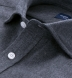 Canclini Charcoal Twill Beacon Flannel Shirt Thumbnail 2