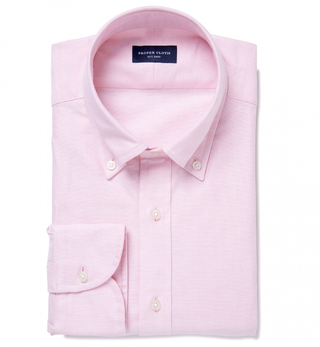 Canclini Light Pink Heavy Oxford Button Down