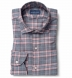 Satoyama Light Pink and Slate Plaid Flannel Shirt Thumbnail 1