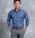 Reda Light Slate Melange Merino Wool Shirt Thumbnail 3
