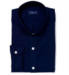 Midnight Navy Heavy Oxford Men's Dress Shirt