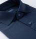 Reda Navy Blue Merino Wool Shirt Thumbnail 2