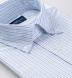 American Pima Light Blue Tonal Striped Heavy Oxford Shirt Thumbnail 2
