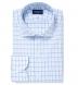 Thomas Mason Turquoise Multi Check Shirt Thumbnail 1